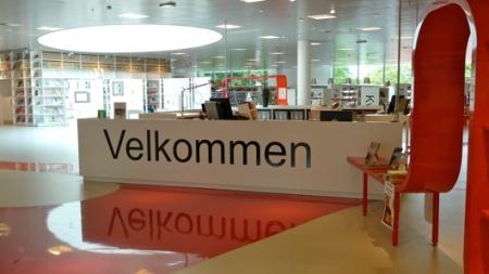 Velkommen to Hjorring (Denmark) Public Library
